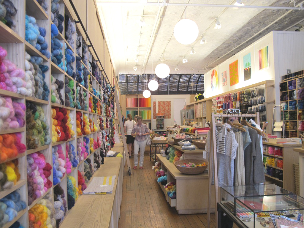 Tienda telas en Nueva York   el taller de las cosas bonitas