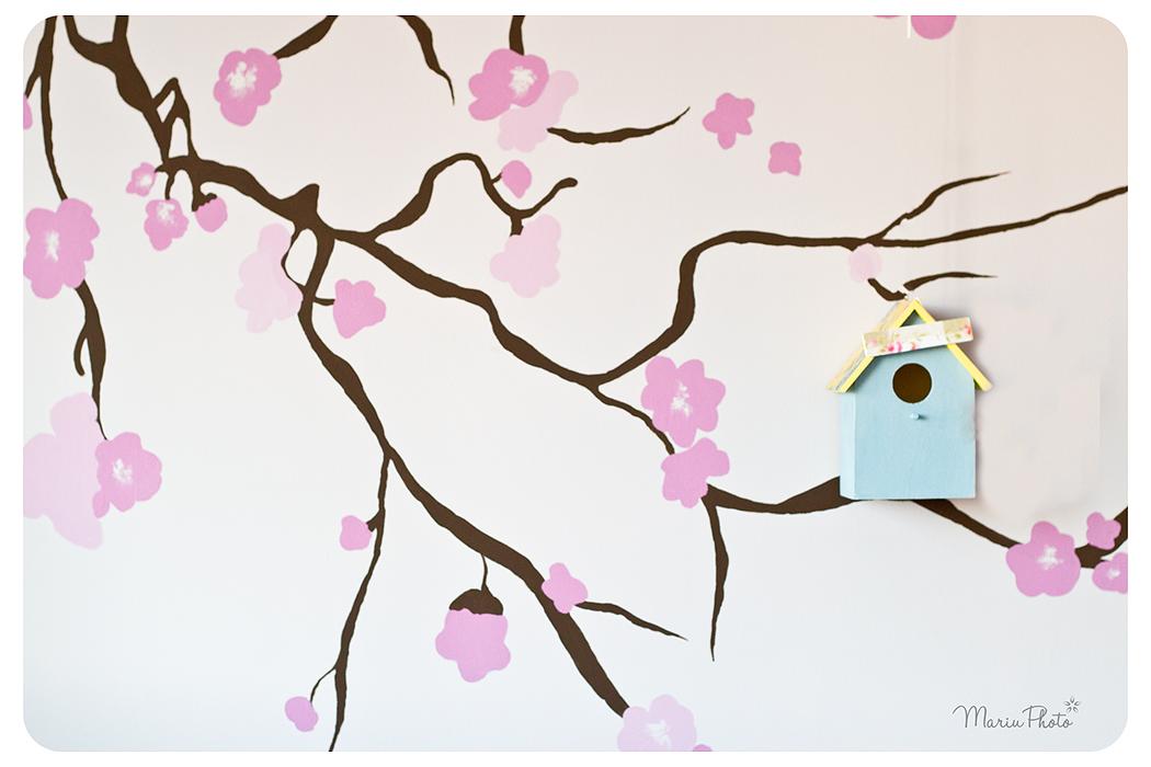 Murales para habitaciones infantiles muy bonitos el for Habitaciones infantiles bonitas