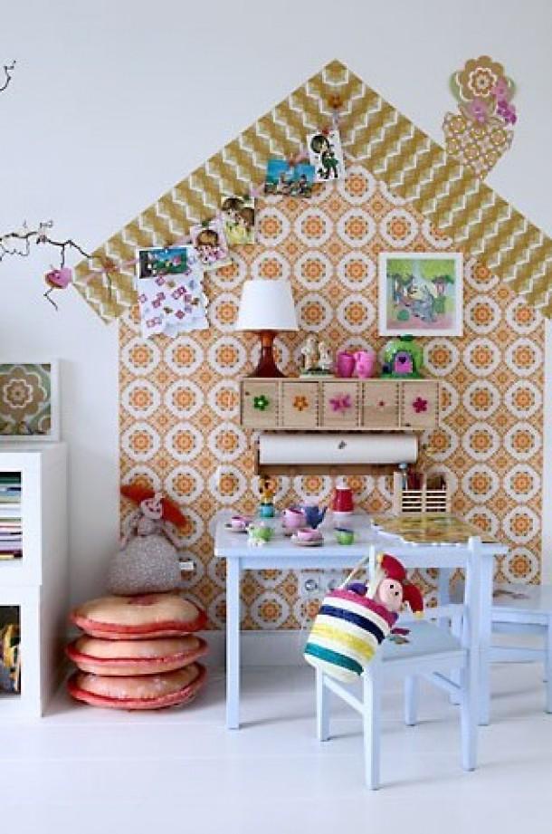 Habitacion infantil papel pintado
