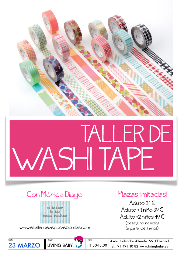 TALLER WASHI TAPE MADRID