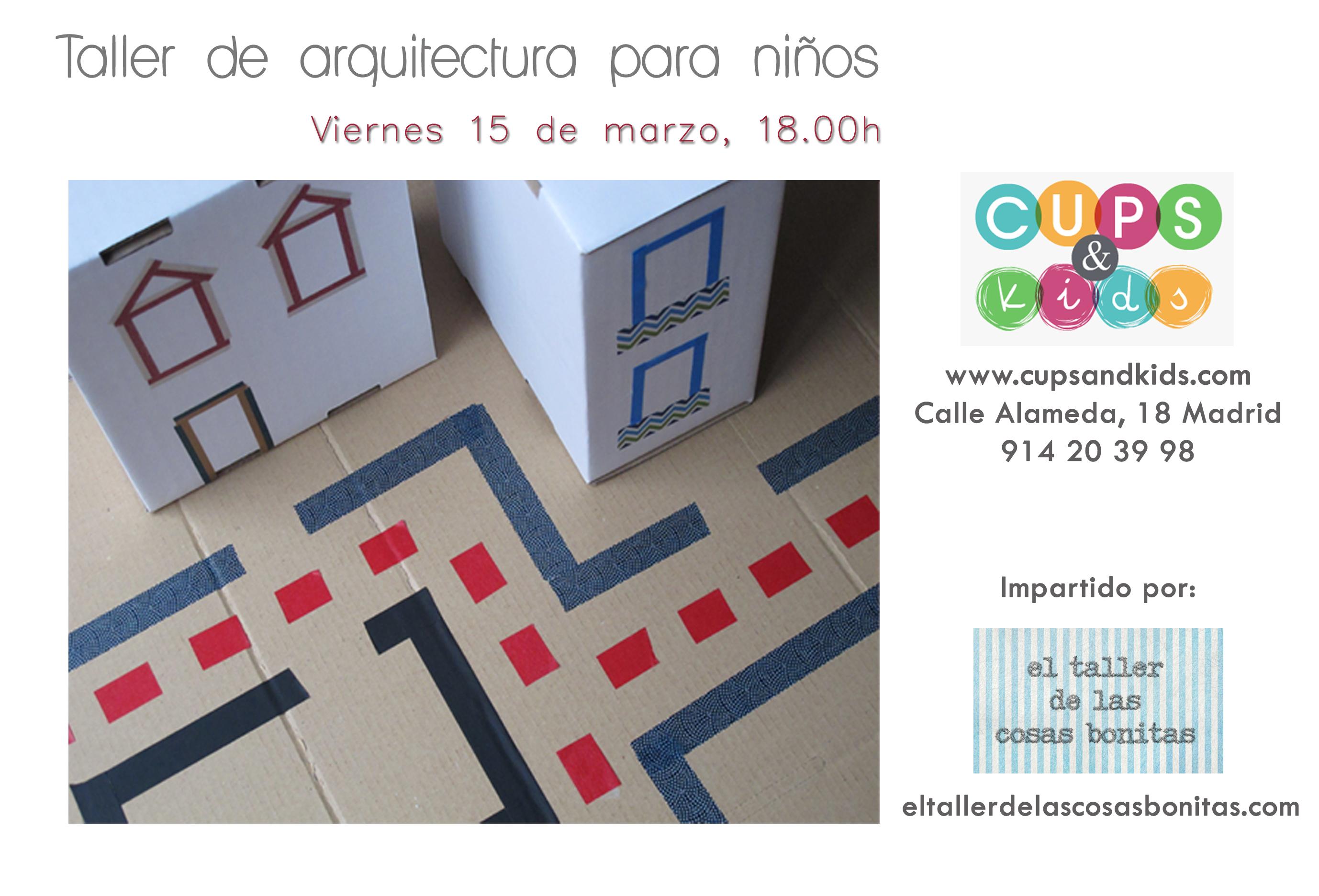 cartel arquitectura para niños