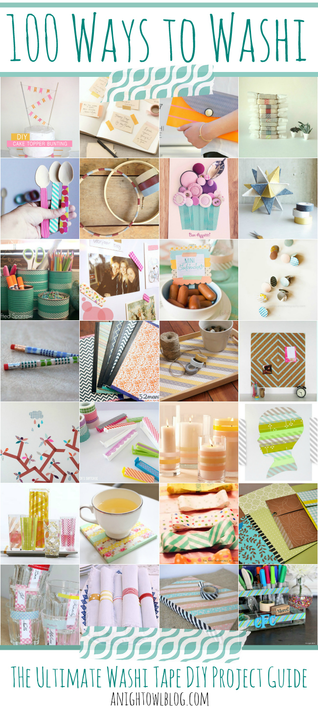 WASHI TAPE_100 ideas