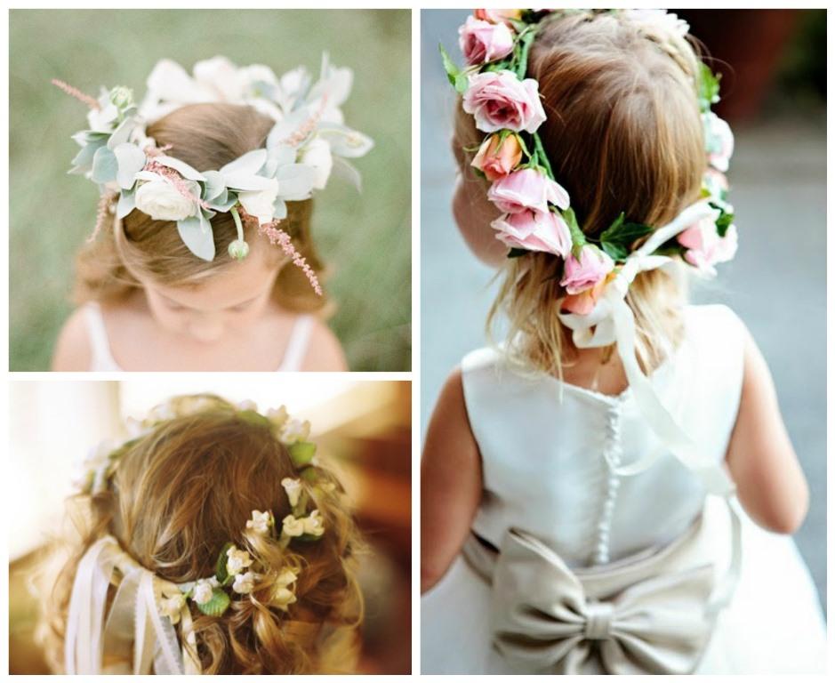 Coronas de flores para bodas y novias el taller de las cosas bonitas - Como hacer peinado para boda ...