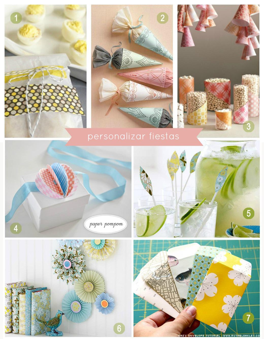 05 decorar fiestas el taller de las cosas bonitas - Cosas originales para decorar ...