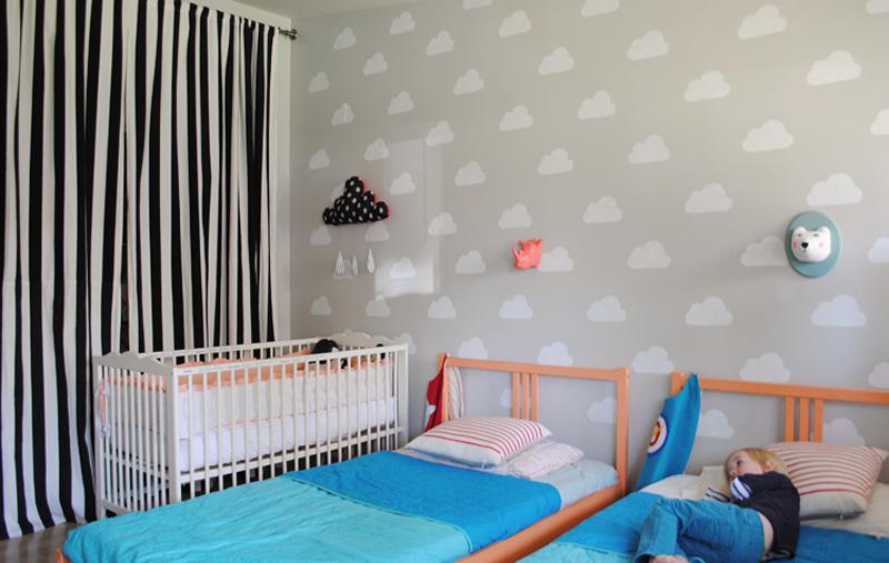C mo pintar habitaci n de ni os el taller de las cosas - Como pintar una habitacion infantil ...