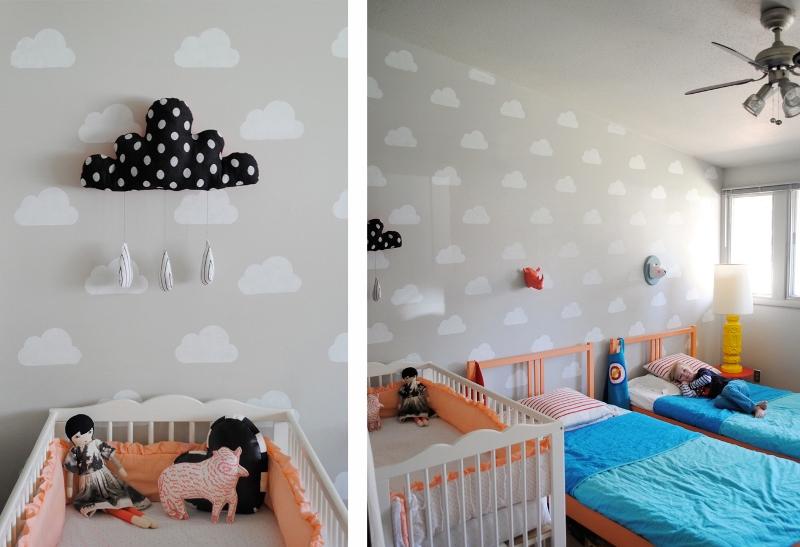 C mo pintar habitaci n de ni os el taller de las cosas - Ideas pintar habitacion infantil ...