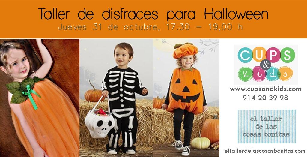 taller de disfraces de Halloween