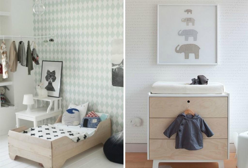 Mobiliario para habitaciones de bebes for Mobiliario habitacion matrimonio