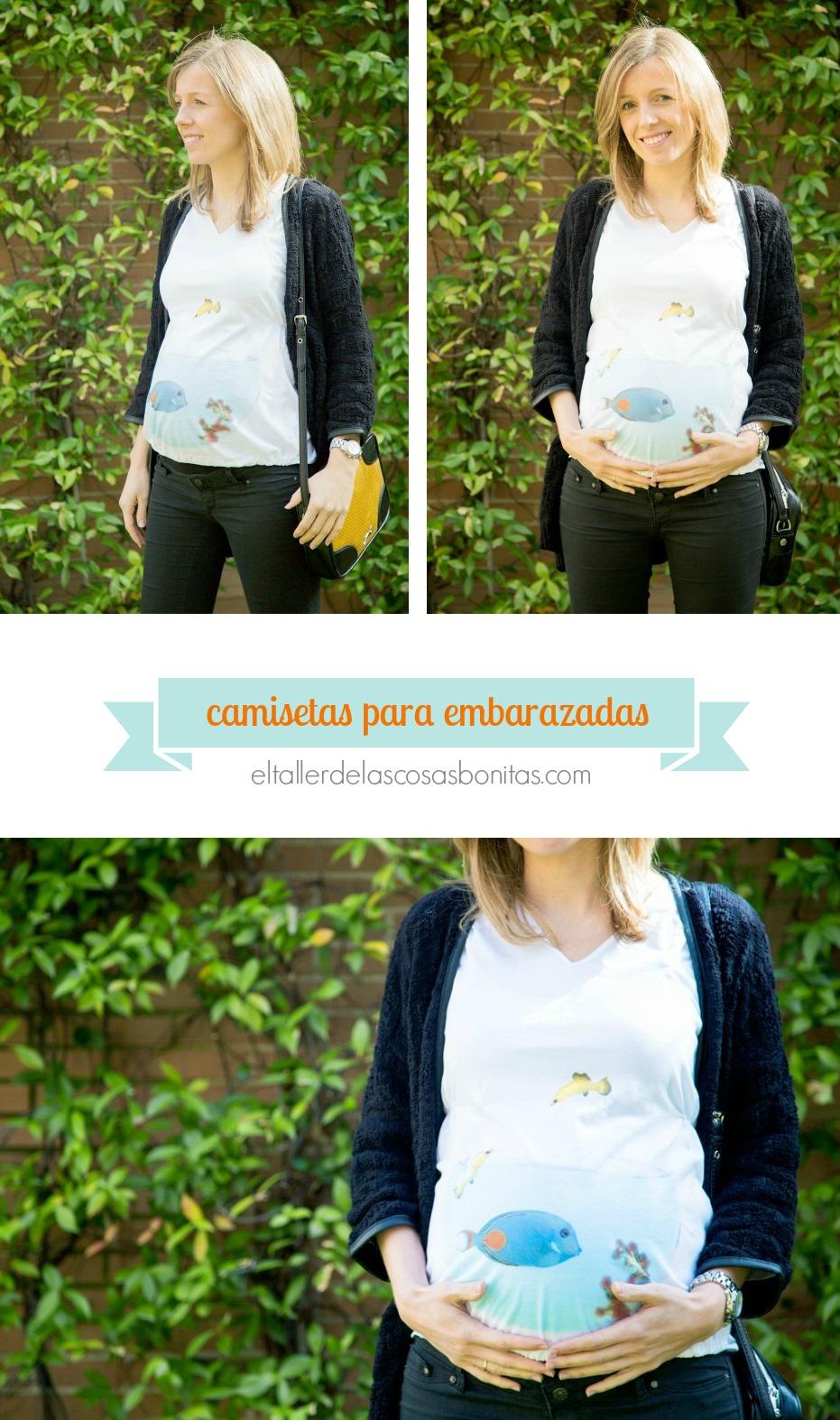 Camisetas originales para embarazadas