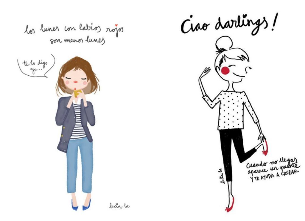 ilustraciones lucia b