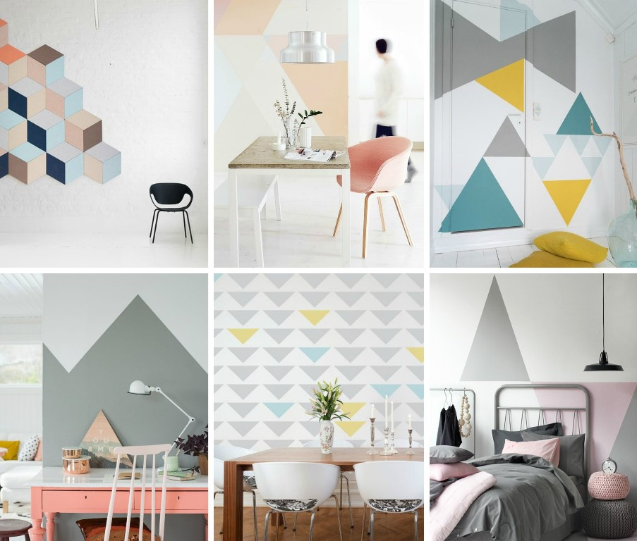 Formas de pintar una pared formas de pintar una pared - Formas de pintar paredes ...