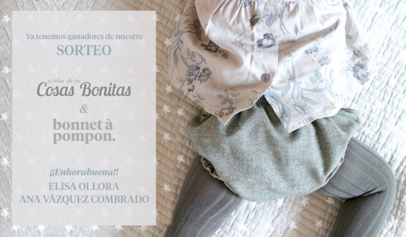 ganadores - cosas bonitas & bonnet á pompon