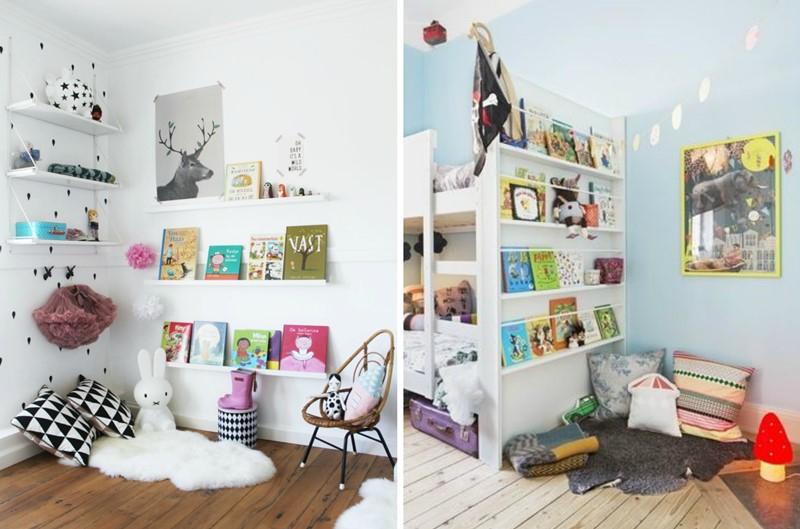 Rincones de lectura para los m s peques de la casa el Decoracion de espacios de preescolar