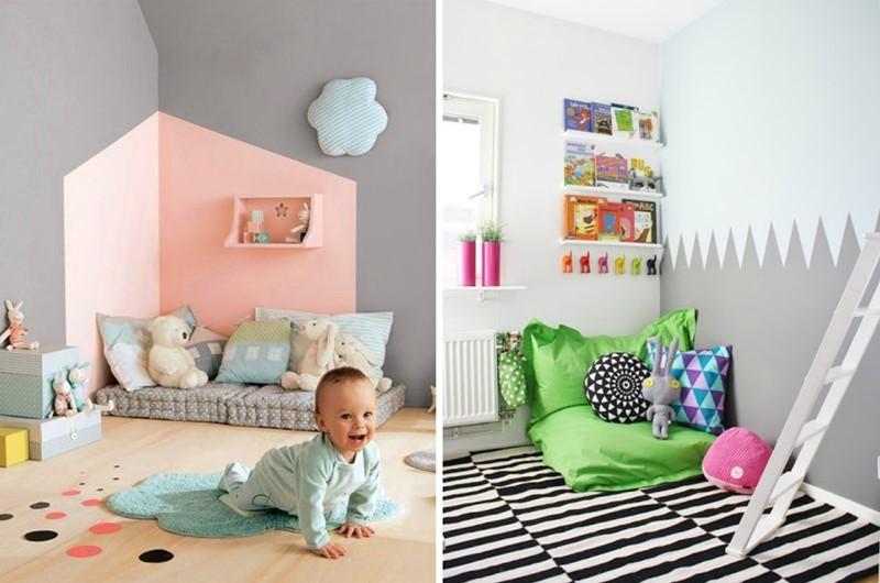 Rincones de lectura para los m s peques de la casa el taller de las cosas bonitas - Perchas infantiles de pared ...