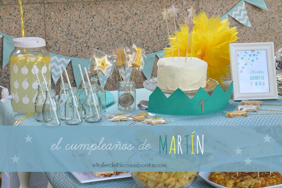 Fiesta De Cumpleanos Para Un Bebe De Un Ano El Taller De Las Cosas