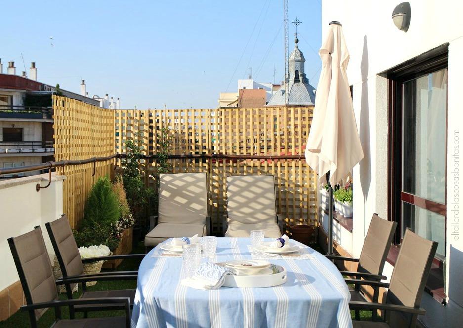 C mo decorar una terraza antes y despu s el taller de - Como impermeabilizar una terraza ...