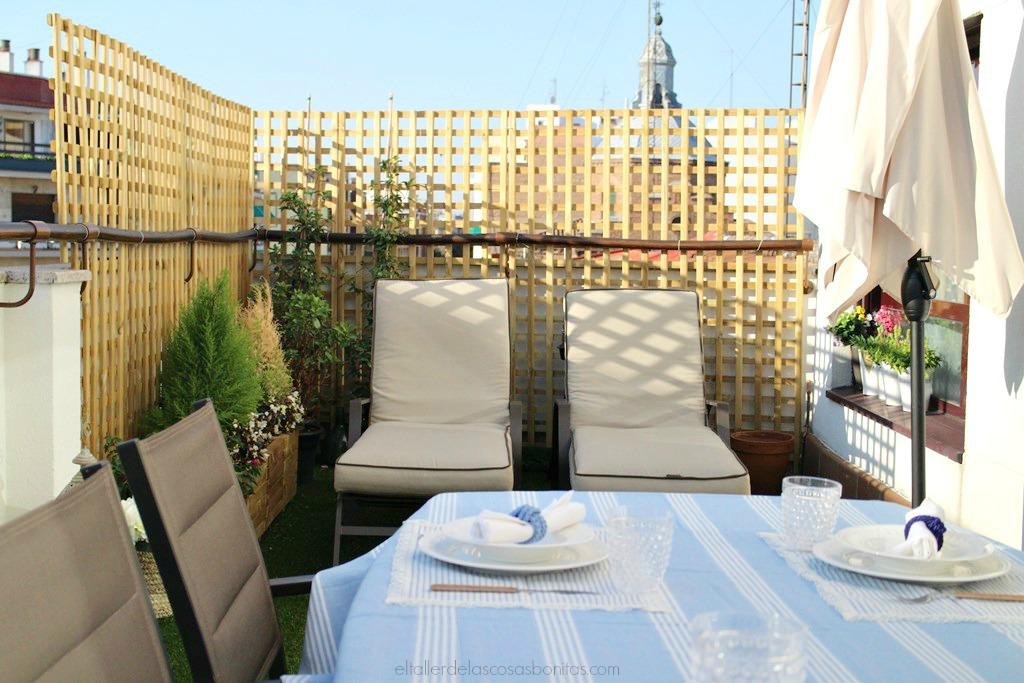 Cómo decorar una terraza: antes y después | el taller de las cosas ...