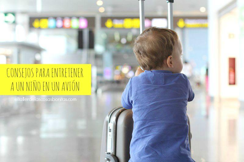 entretener niños viaje
