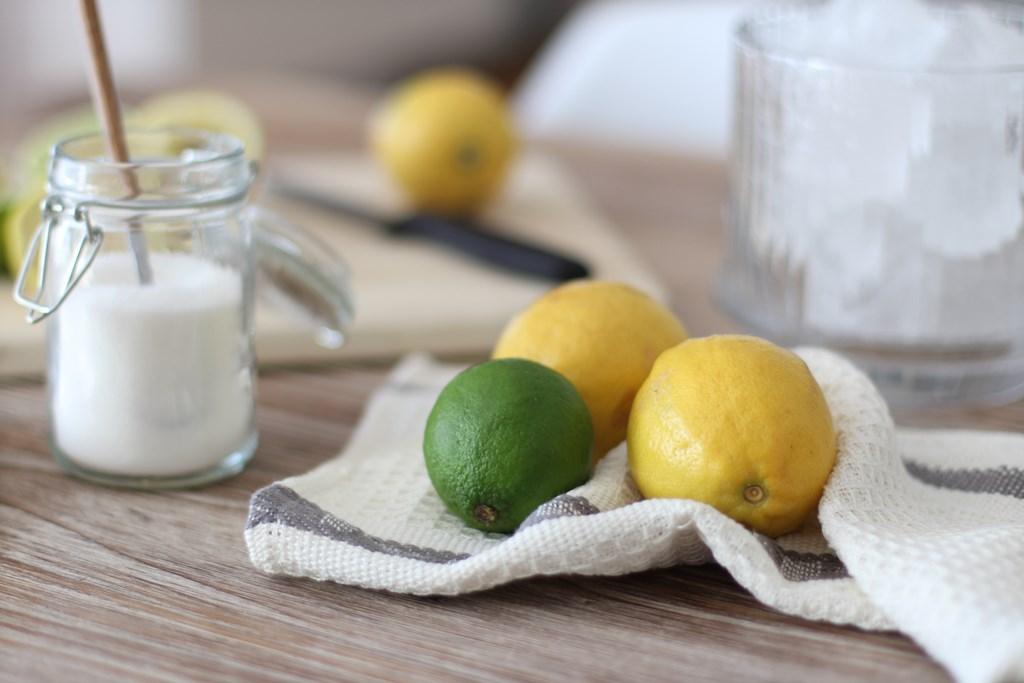 receta limonada casera