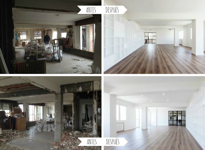 Consejos para reformar un piso en el centro de madrid el for Reforma piso pequeno antes y despues