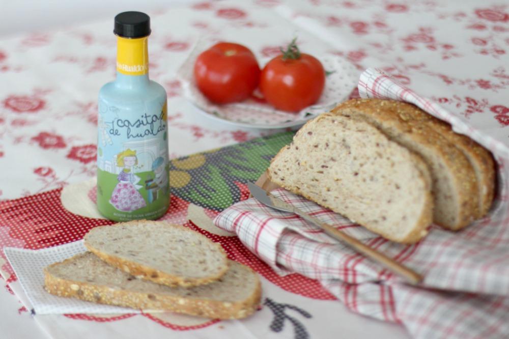 desayuno sano con aceite de oliva virgen extra 0