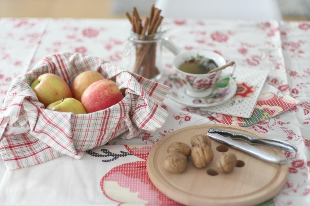 desayuno sano con manzana 1