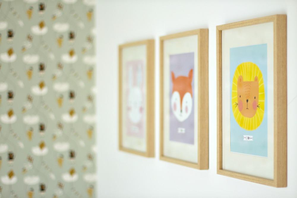 Ilustraciones bonitas para habitaciones de niños 01