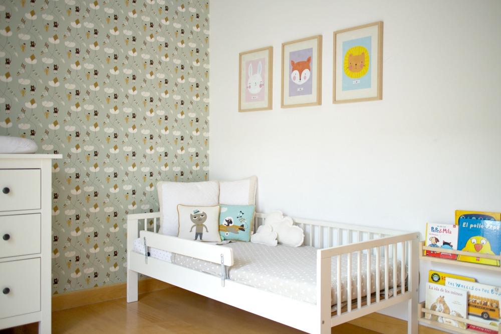 Ilustraciones bonitas para habitaciones de niños 02