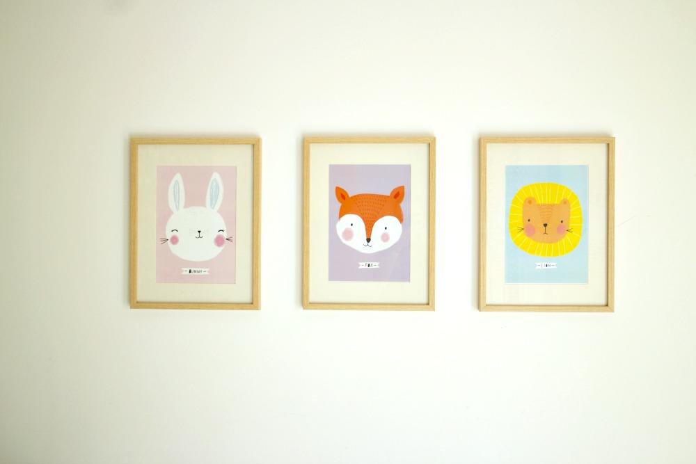 Ilustraciones bonitas para habitaciones de niños 03