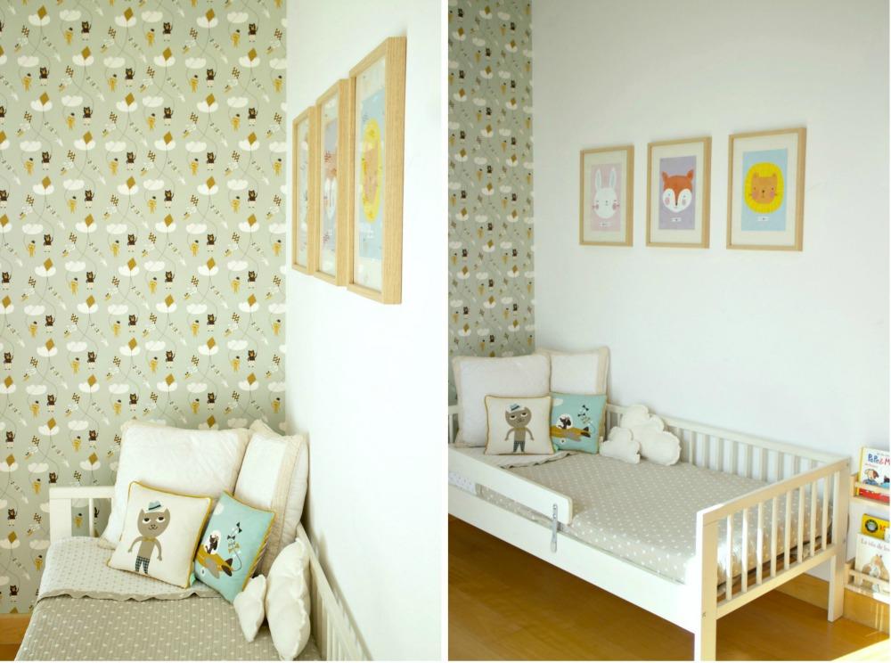Ilustraciones bonitas para habitaciones de niños 04