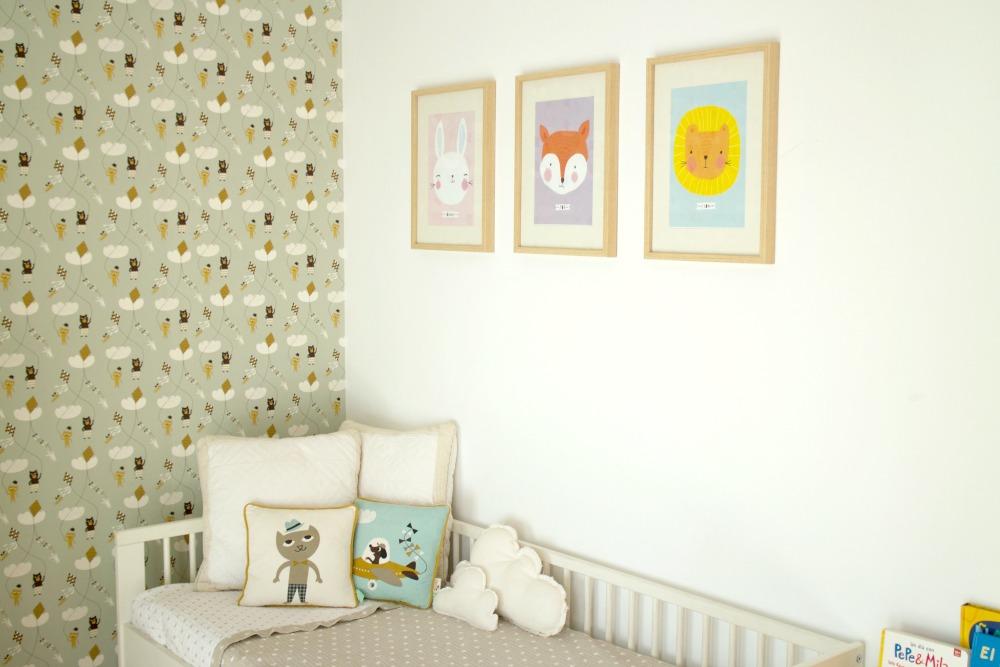 Ilustraciones bonitas para habitaciones de niños 05