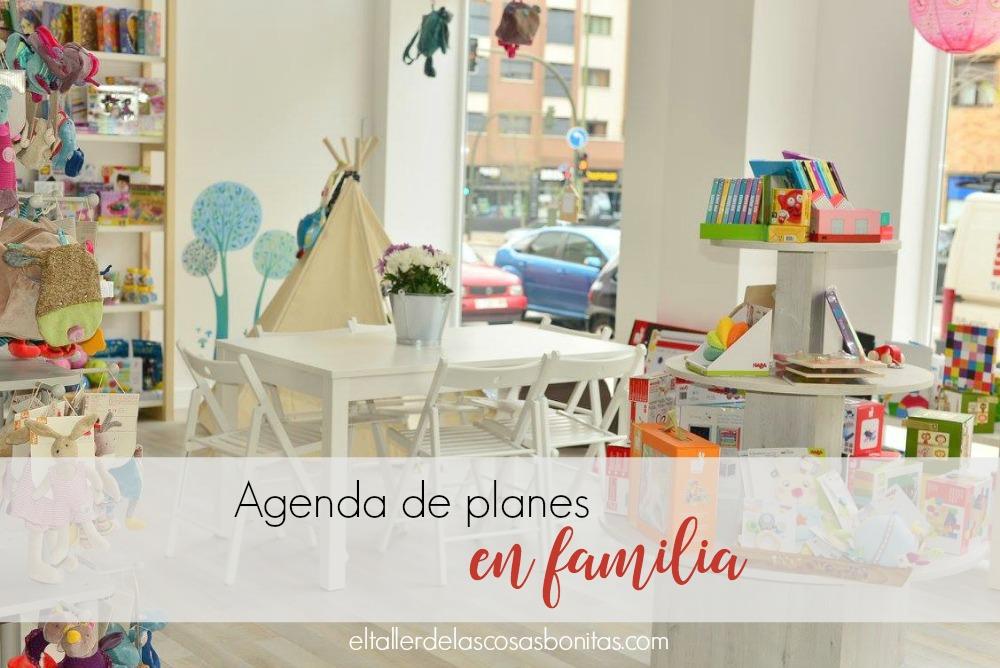 agenda de planes en familia madrid