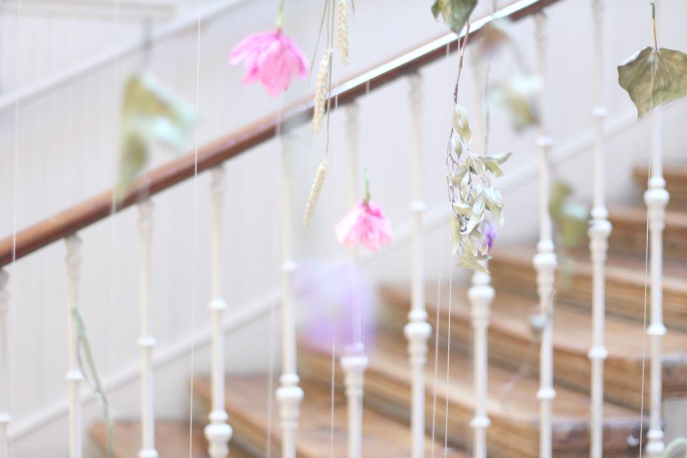 Casa Decor 2016 Escalera flores 02