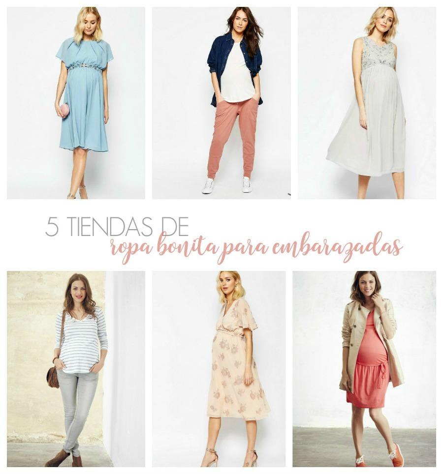 tiendas de ropa bonita para embarazadas