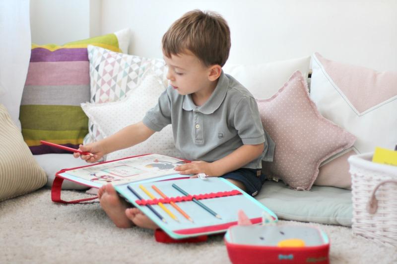 Lilliputiens cuaderno y carpeta On The Move 1