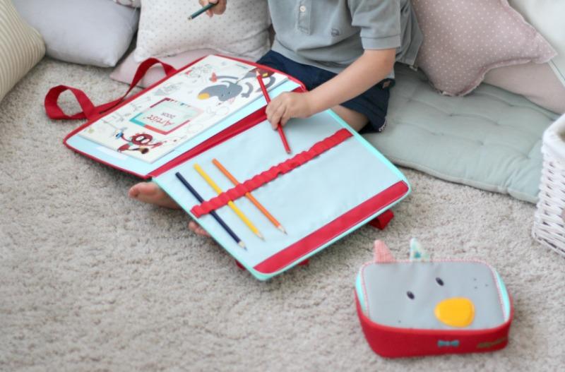 Lilliputiens cuaderno y carpeta On The Move 2