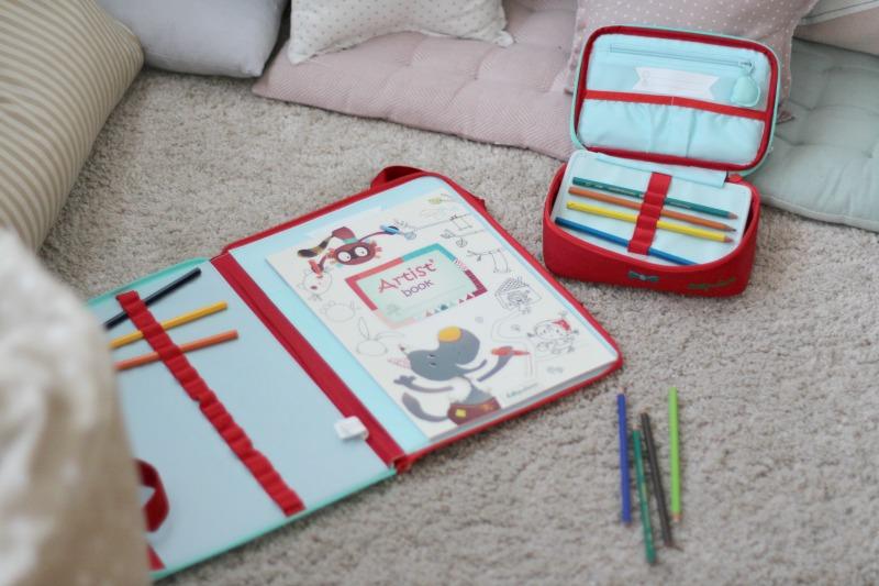 Lilliputiens cuaderno y carpeta On The Move 4