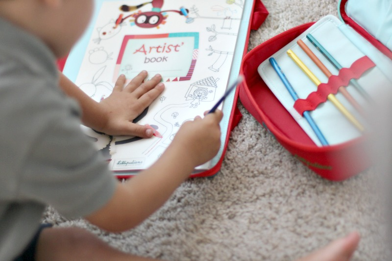 Lilliputiens cuaderno y carpeta On The Move 5