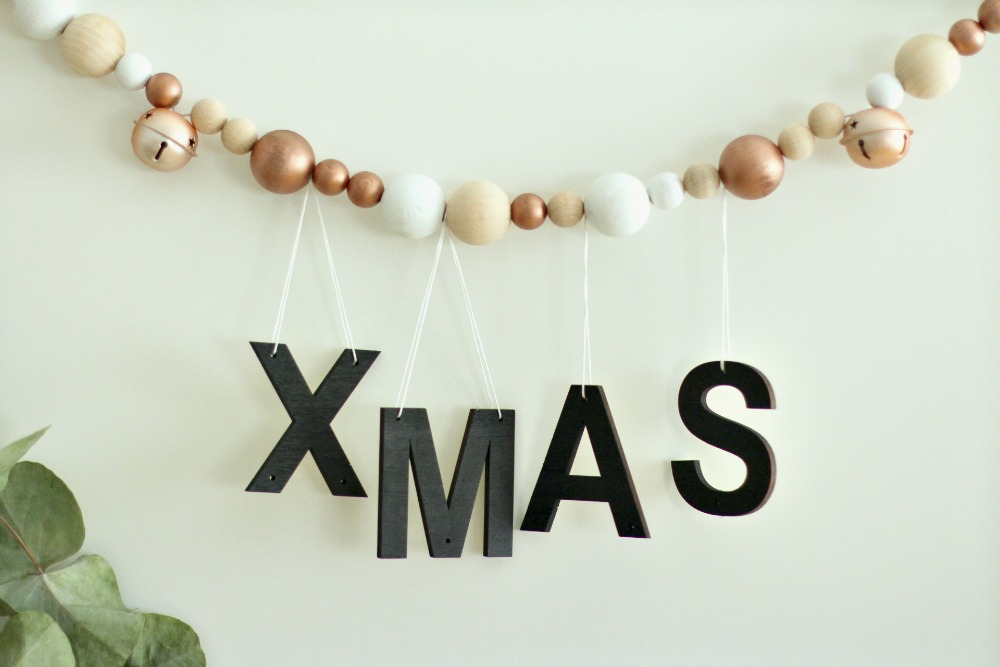 cmo hacer una guirnalda de navidad con opitec y handbox - Guirnalda De Navidad