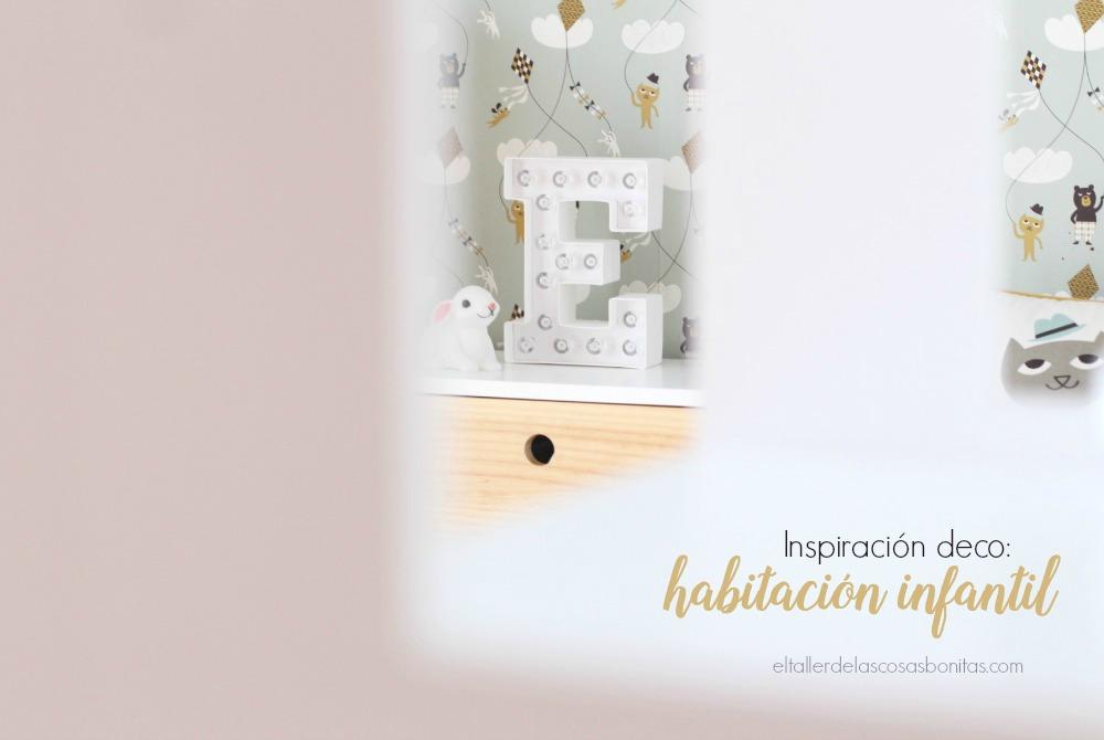 inspiración deco habitación infantil para niño y bebé
