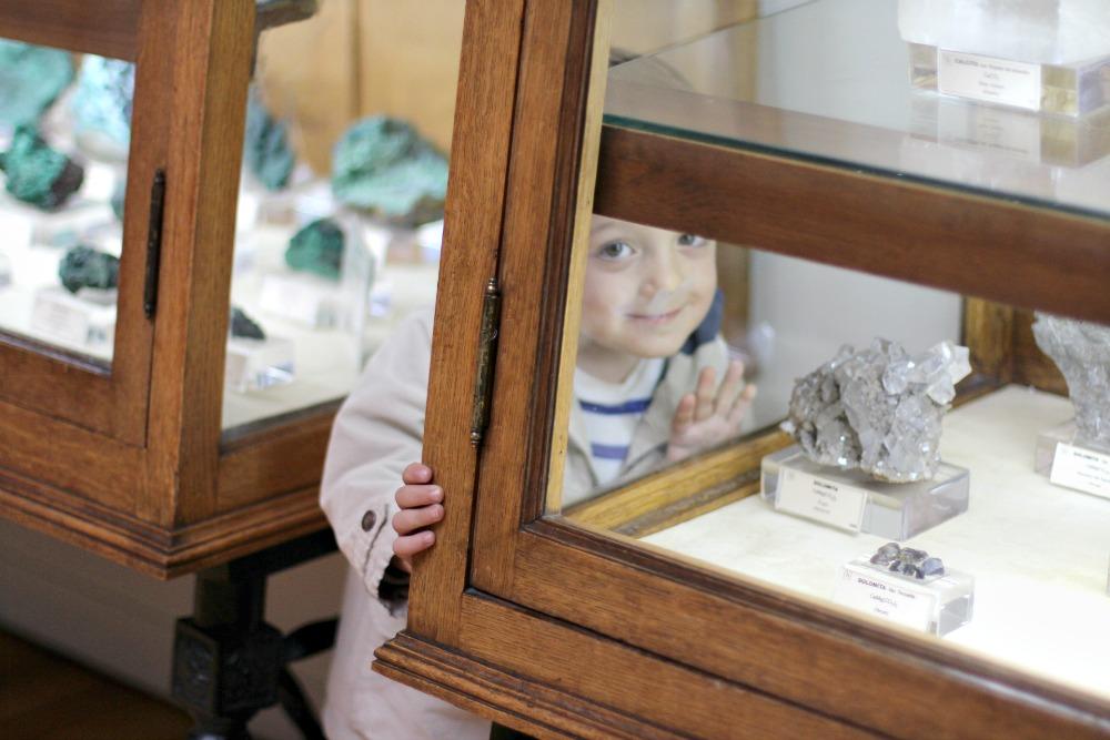 Museo Geominero en Madrid con niños 10