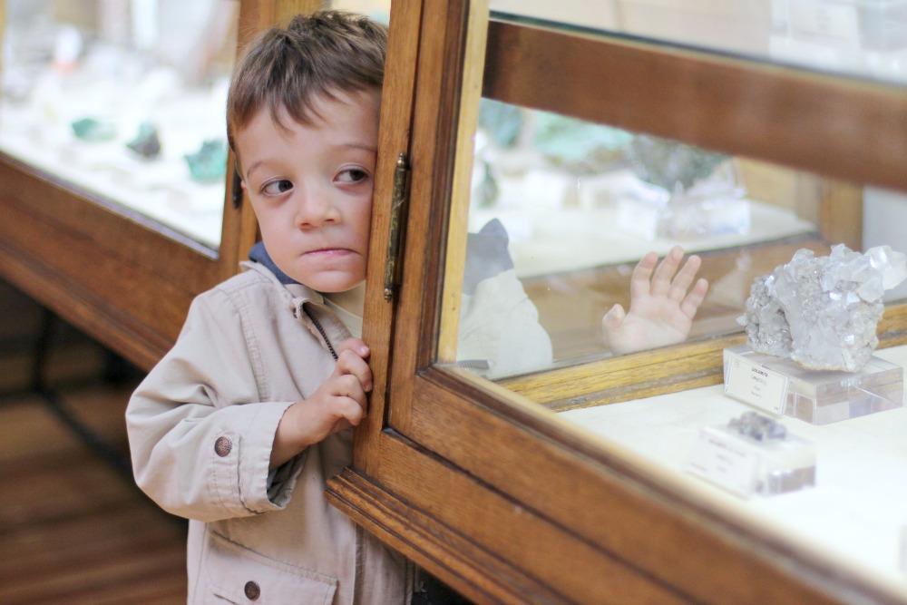 Museo Geominero en Madrid con niños 11