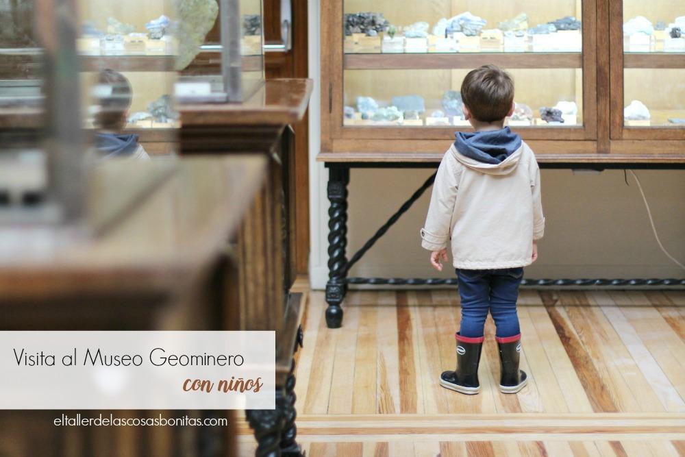 planes con niños Madrid Museo Geominero