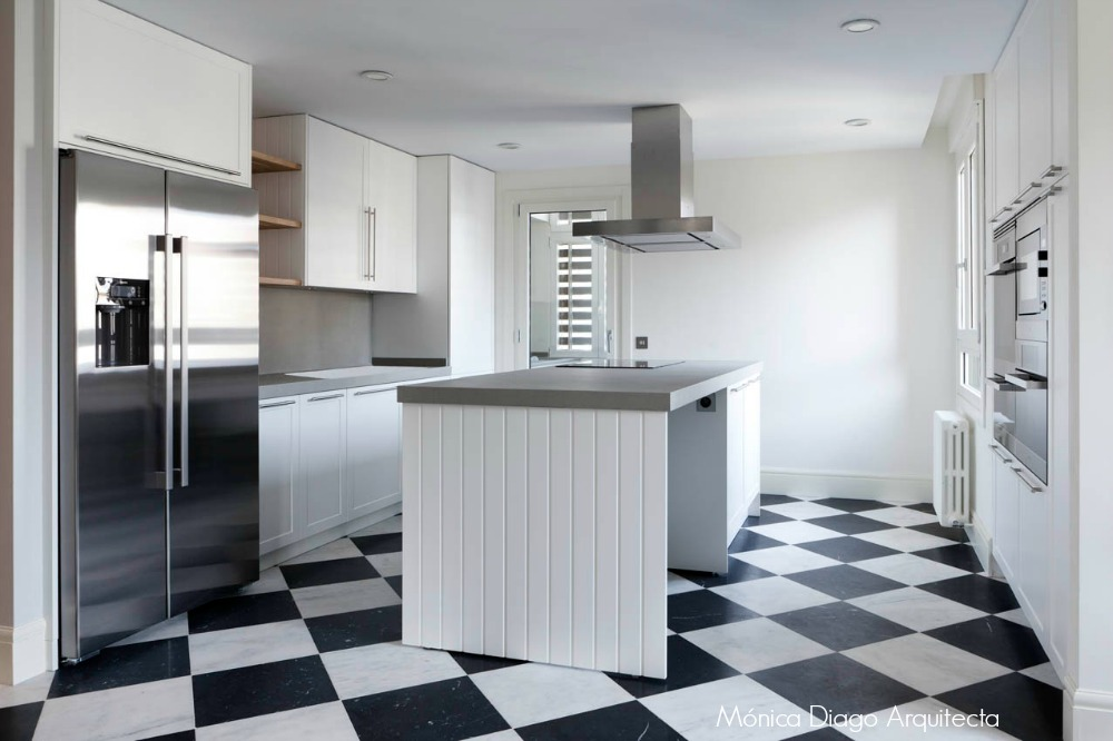 C mo elegir el suelo adecuado para una reforma tipos de revestimientos el taller de las cosas - Suelos para cocinas modernas ...